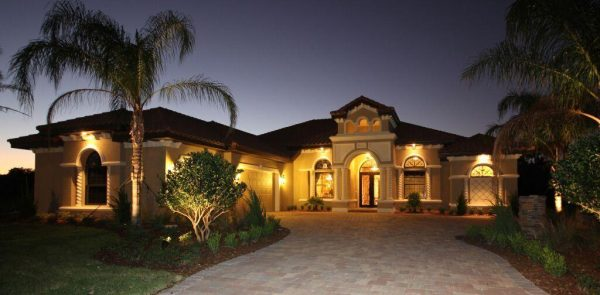 An exterior by Bellagio Custom Homes