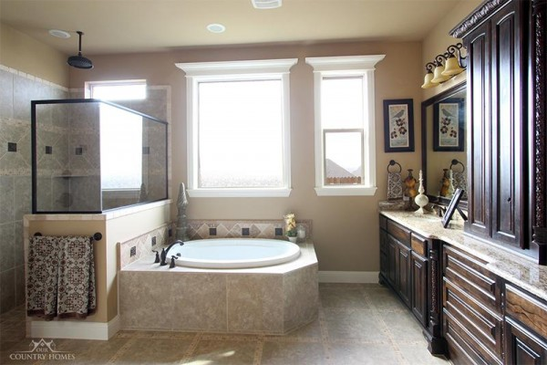 Master Bath by Our Country Homes